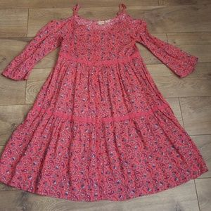 Girl's size 12 Mudd Coral/Pink Dress